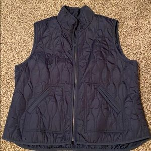 Lightweight Navy Blue Vest